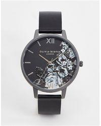 Olivia Burton – Shoreditch Fine Art – Armbanduhr - Schwarz