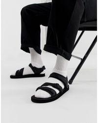 ASOS Tech Sandals - Black