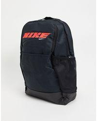 Nike Черный Рюкзак С Логотипом -черный Цвет