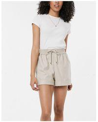 River Island - Shorts color crema - Lyst