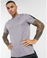 Reebok Wor Short Sleeve Tech Tshirt - Grey