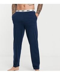 ASOS Lounge-pyjamabroek - Blauw