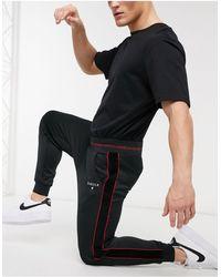 SIKSILK Cuffed joggers - Black