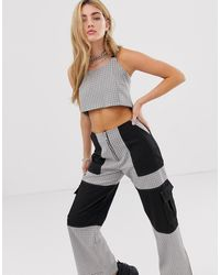 The Ragged Priest Crop Top - Gray