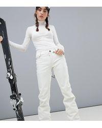 Volcom - Species Stretch Ski Trouser In White - Lyst