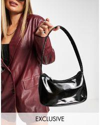 Glamorous Exclusive Shoulder Bag - Black