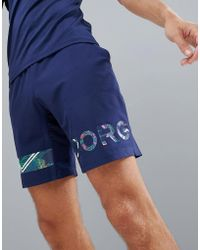 Björn Borg - Performance August Shorts - Lyst