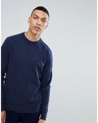 SELECTED - Fleck Knit Sweater - Lyst