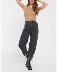 New Look Jeans a palloncino neri - Nero