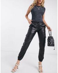 Goosecraft Pantalones utilitarios - Negro