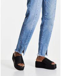 Free People Harbor Flatform Shoes - Black