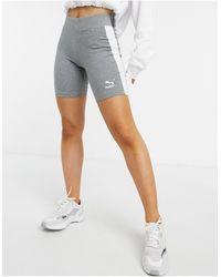 PUMA Classic legging Shorts - Grey