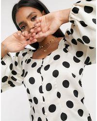 Vero Moda Blouse With Square Neck - Multicolour