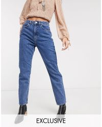 Reclaimed (vintage) The '91 Mom Jean - Blue