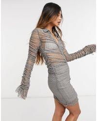 s t e e l e. Kata Dress - Grey