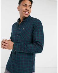 Lacoste Camisa a cuadros - Azul