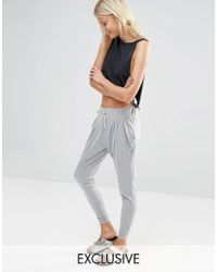 Nocozo | Light Grey Hareem Pants | Lyst