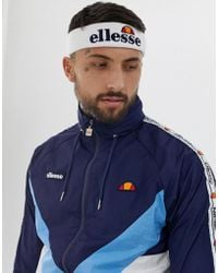 d0cc19a7 Lyst - Ellesse Yaan Beanie With Stamp Logo In Black in Black for Men