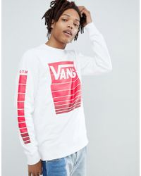Vans - Heritage Sweat In White Exclusive To Asos - Lyst