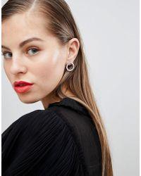 Coast - Statement Circle Earrings - Lyst