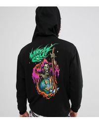 Santa Cruz - Smile Now Hoodie With Back Print In Black Exclusive To Asos - Lyst