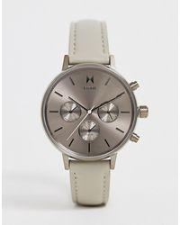 MVMT Часы С Кожаным Ремешком - Многоцветный