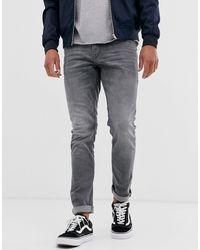 Tom Tailor Skinny Culver Mid Stone Grey Denim - Gray