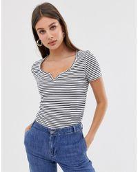 c94023b1d4 Stripe T-shirt - Gray
