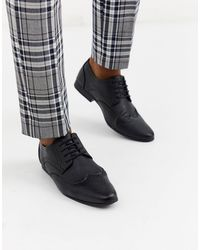 New Look - Faux Leather Formal Brogue - Lyst