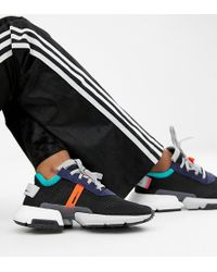 Adidas Originals Falcon Trainer In Black Multi In Black Lyst