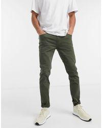 Jack & Jones Intelligence Skinny Fit Trousers - Green