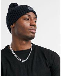 Ben Sherman Moorland Bobble Hat - Black
