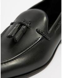 KG by Kurt Geiger Kg By Kurt Geiger Rochford Tassel Loafers - Black