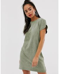 bershka t shirt dress