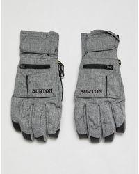 Burton - Baker - Sous-gants 2 en 1 - Gris - Lyst