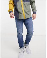 Tom Tailor Piers - jean slim - délavé moyen - Bleu