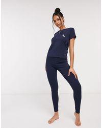 Calvin Klein Loungewear legging - Blue