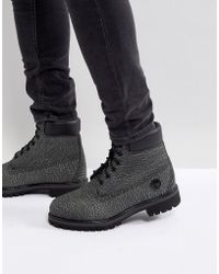 Timberland - Classic 6 Inch Premium Helcor Boots - Lyst