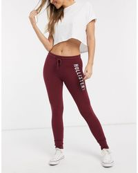 Hollister Skinny Logo jogger - Red