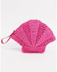 & Other Stories Clutch rosa