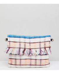 Maison Scotch - Exclusive Fringed Bag With Leather Strap - Lyst