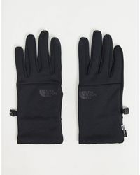 The North Face Черные Перчатки Etip-черный