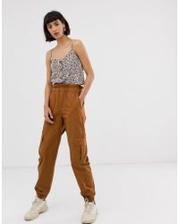 ONLY - Cargo Trouser With Pocket Detail - Lyst