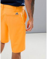 adidas Originals - Ultimate 365 Shorts In Orange Ce0451 - Lyst