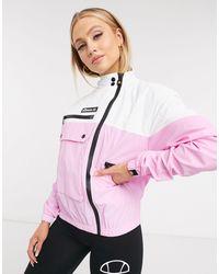 Ellesse Utility Track Jacket - Pink