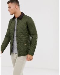 Barbour Liddesdale Olive Padded Jacket - Green