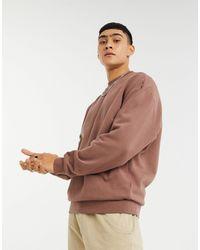 ASOS Oversized Sweatshirt - Bruin