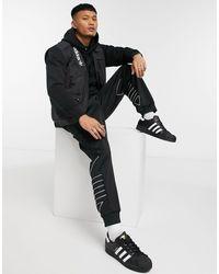 adidas Originals Черный Теплый Жилет В Стиле Милитари Adventure