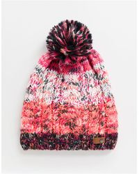 Roxy – Snow Telma – Pudelmütze mit Blockfarbendesign - Mehrfarbig