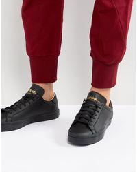 adidas Originals Court Vantage Trainers - Black